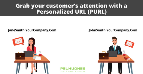 Grab your customer's attention with a Personalized URL (PURL) _ PEL HUGHES print marketing new orleans