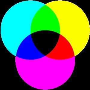 CMYK colors pel print