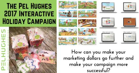 Pel Hughes Successful 2017 Holiday Campaign _ PEL HUGHES print marketing new orleans
