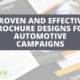 Proven and effective brochure designs for automotive campaigns _ PEL HUGHES print marketing new orleans