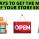 5 ways to get the most out of your store signage _ Pel Hughes print marketing new orleans