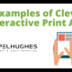 4 examples of clever interactive print ads _ Pel Hughes print marketing new orleans