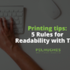 Printing tips_ 5 Rules for Readability with Type_ Pel Hughes print marketing new orleans