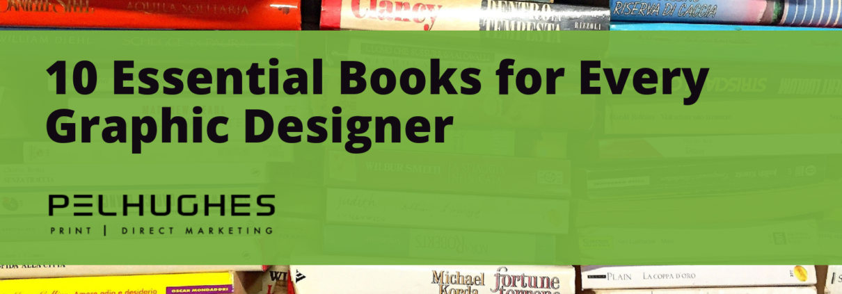 10 Essential Books for Every Graphic Designer - Pel Hughes print marketing new orleans